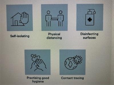 警戒レベルが下がっても、引き続き感染予防策を推奨