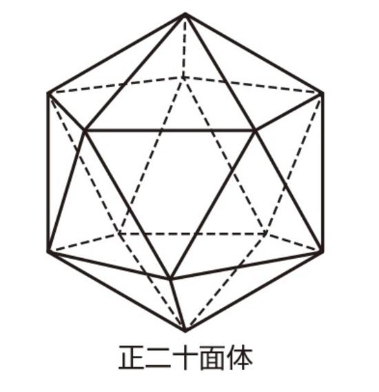 数 頂点 の 正 20 面体 『正多面体の面・辺・頂点の数』一覧表と『オイラーの公式』
