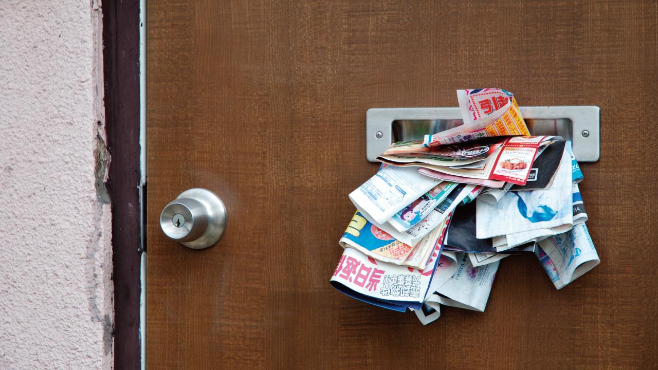 自宅に「家を売りませんか?」というチラシが頻繁に入る理由